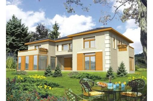 347m² Çift Katlı Çelik Ev